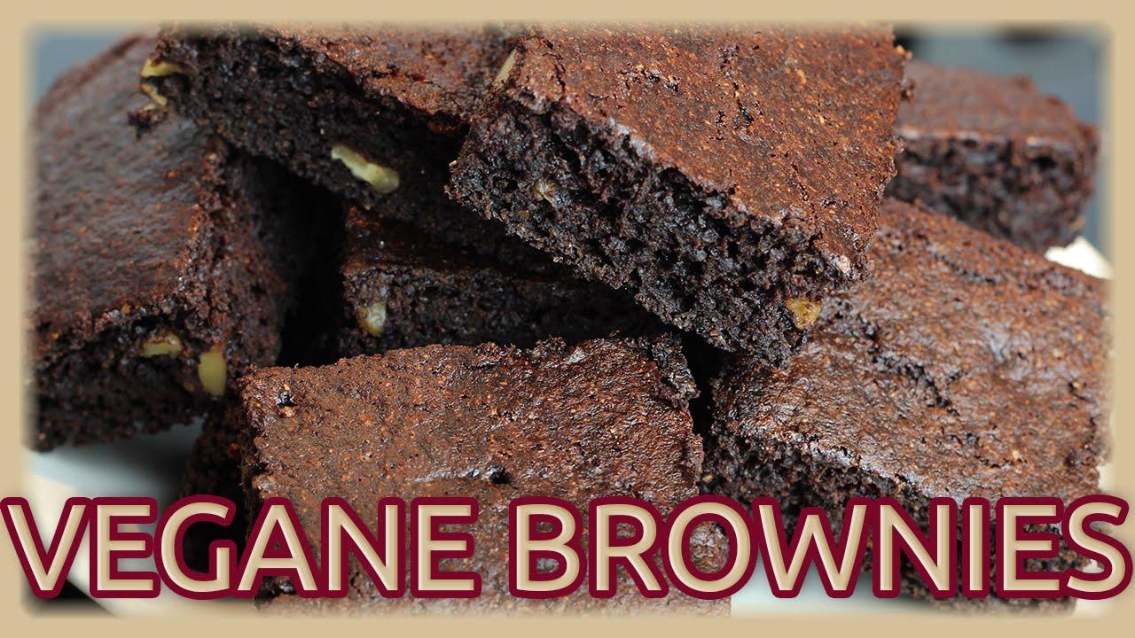 vegane brownies ohne fett ohne soja super einfach fluffig youtube. Black Bedroom Furniture Sets. Home Design Ideas
