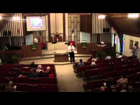 Ellinwood Immanuel United Church of Christ Worship 8/22/2013