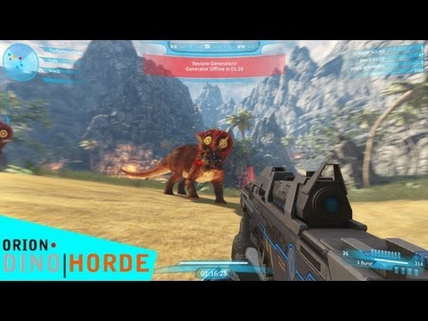 Chasse aux dinosaures - ORION: Dino Horde