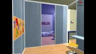 видео Шафи в дитячу кімнату