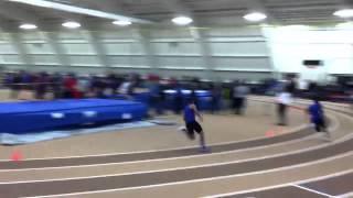 Diomer Runs 200m At Lehigh University Indoor Track