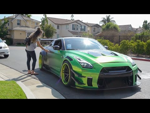 Picking Up UBER Riders In A 1000HP GTR!