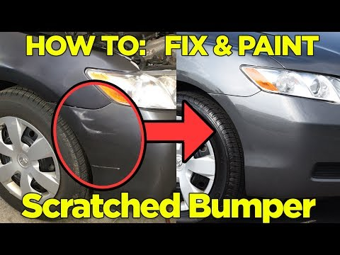 How to Repair & Paint a Scratched Bumper – Easy Fix!