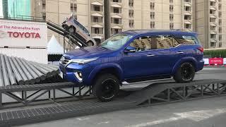 Toyota 4X4 Adventures at 2017 Dubai Motor Show