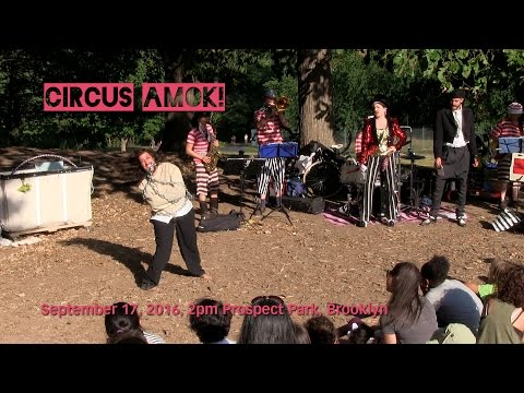 Circus Amok! 2016 - Prospect Park - September 17 - 4pm show