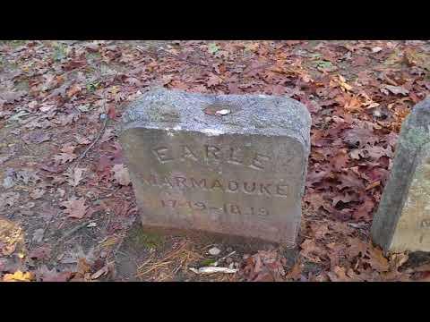 Spider Gates Cemetery On Halloween 2017
