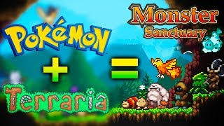 ¡ Terraria + Pokémon = Monster Sanctuary !