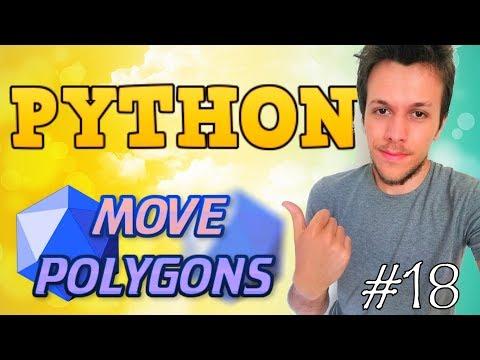 Python tutorial 2019 #18 MOVE POLYGONS WITH PYGLET! thumbnail