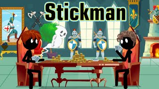 Stickman mentalist. The Castle and its Ghosts