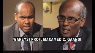 Video Wareysi Prof. Maxamed Cabdi Gaandi iyo Cabdikariin CaliKaar 05 02 2014 download MP3, 3GP, MP4, WEBM, AVI, FLV Juli 2018