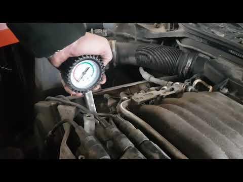 Audi A6 C4 2.8 Aah замер компрессии в двигателе перед продажей