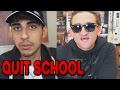 Another 10 YouTubers Who QUIT SCHOOL!