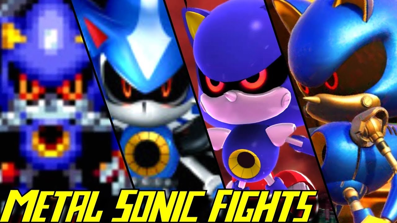 Sonic Generations - Metal Sonic Rival Battle - YouTube