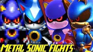 Evolution of Metal Sonic Battles (1993-2017)