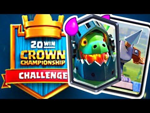 XBOW META in 20 Win Challenge! - Clash Royale