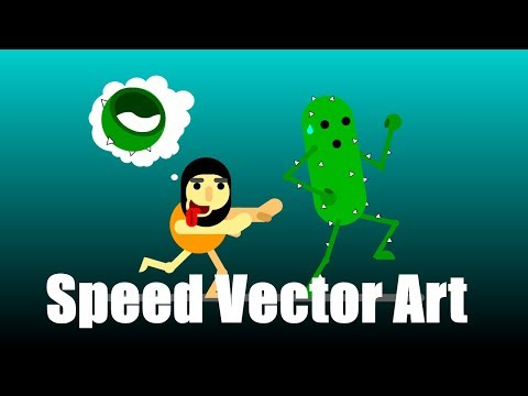 Speed Vector Art #1 | Gravity Design