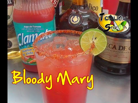 Coctel bloody mary paso a paso toque y saz n youtube for Coctel bloody mary