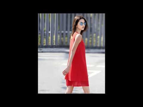 4T - Đầm suông dạo phố thời trang mã B1217