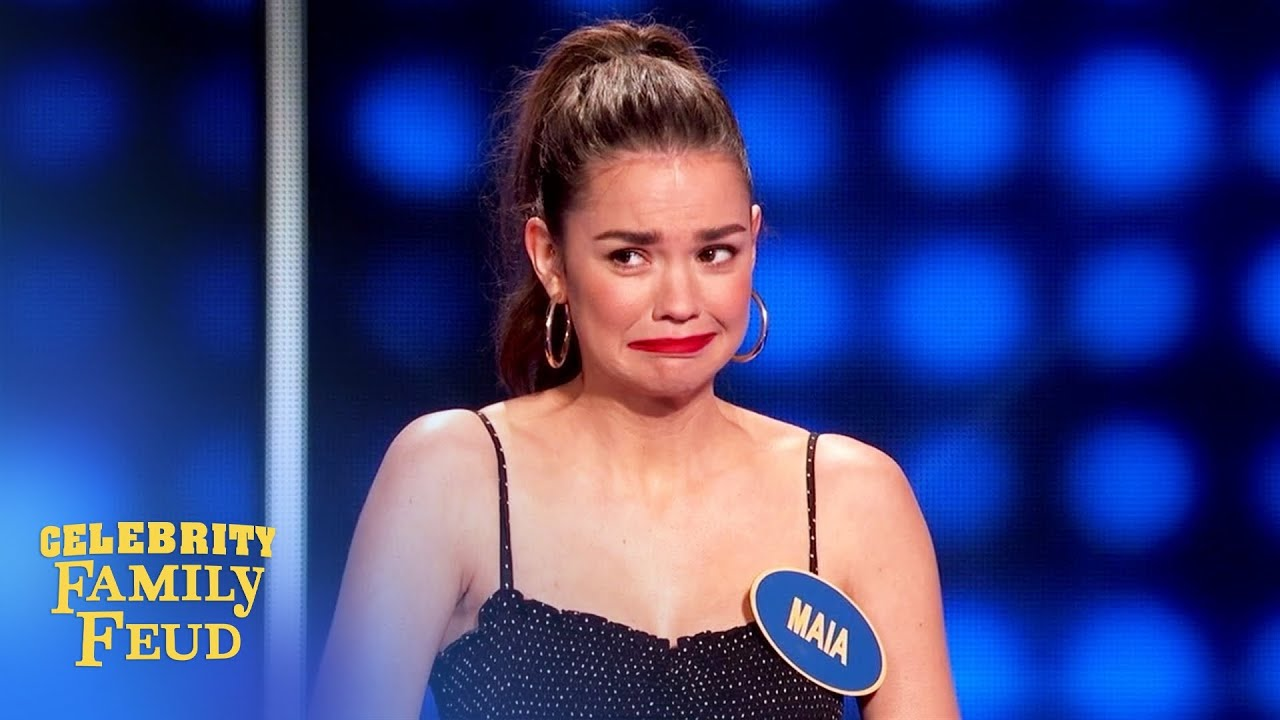 Download Warning! My ex BLANKS a lot! | Celebrity Family Feud