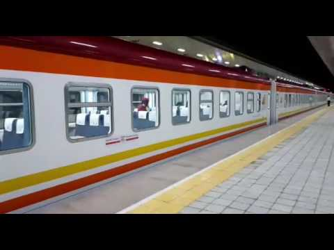 New SGR train arrives in Mombasa 5 hours since departure from Nairobi.