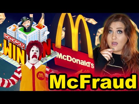 The McDonald's Monopoly Game Conspiracy