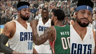 Nba 2k14 Mycareer Ps4 Gameplay - Frustrated Oj Mayo Punches Troll Neal Bridges On Court