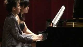 Willin - Saint-Saens - Le Carnaval des Animaux - VII. Aquarium (Piano 4 hands)