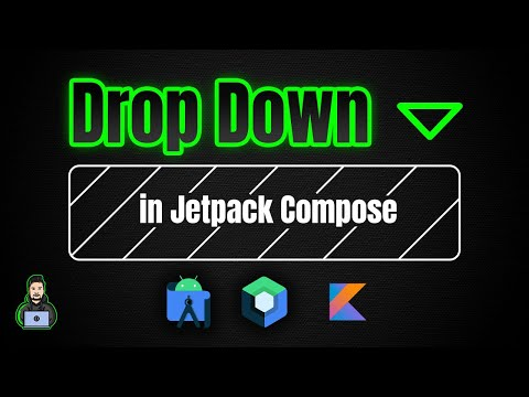 How to Make a 3D Animated Drop Down in Jetpack Compose - Android Studio Tutorial