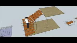 Лестница модель