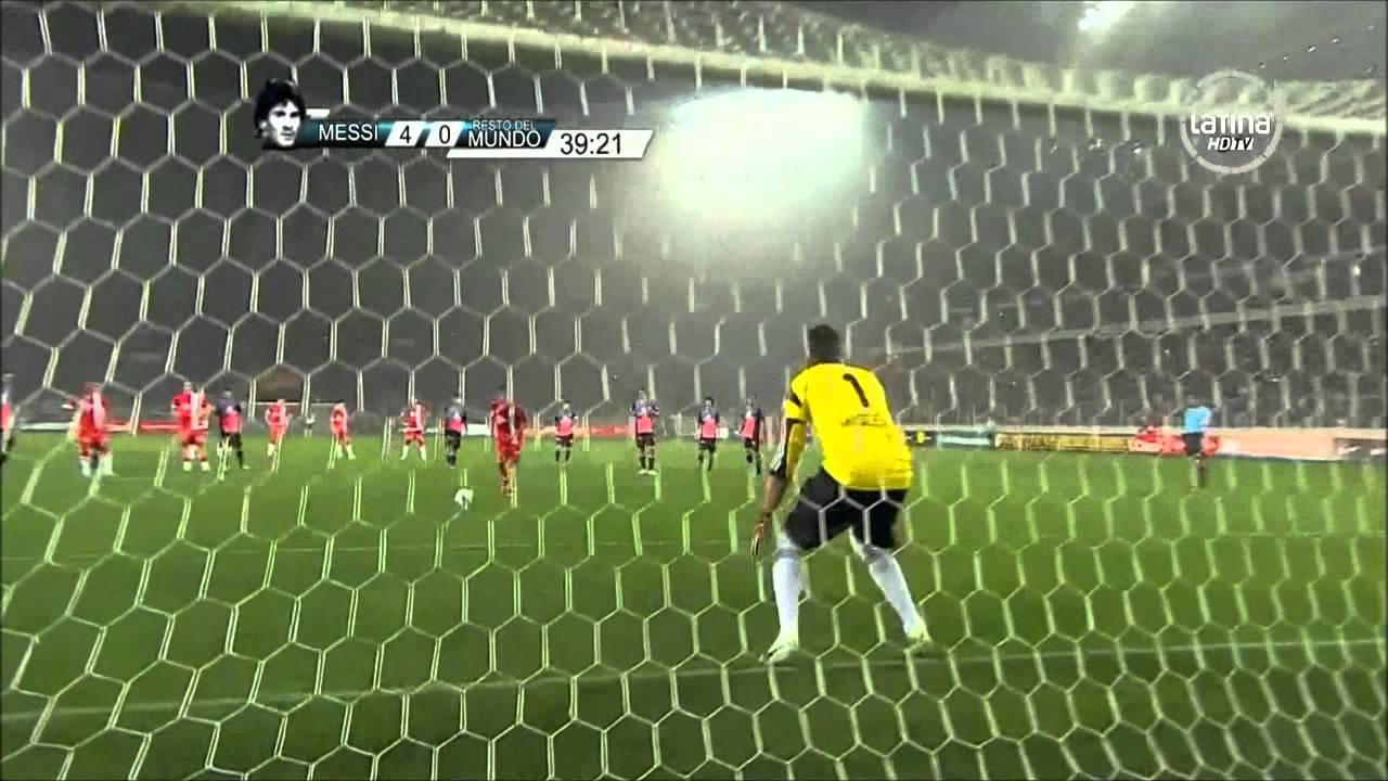 Messi vs Neymar narrado por Luis garcia y Cristian martinoli