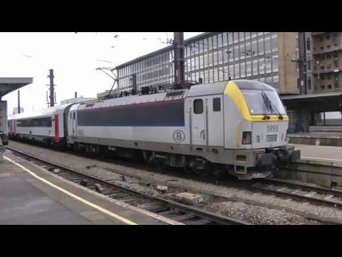 Belgium Rail Brussels South Part 1 02 03 2016