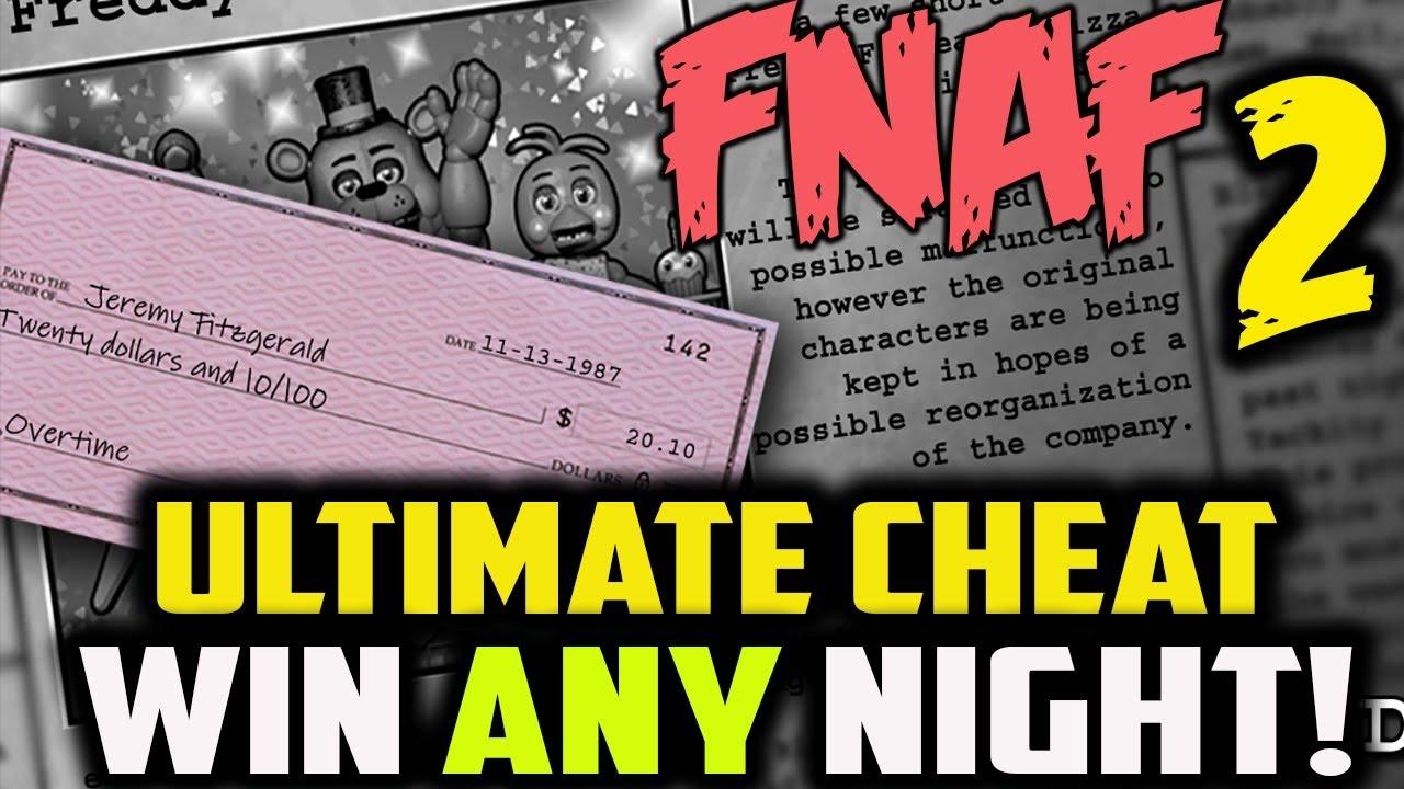 How to skip nights in FNAF 2