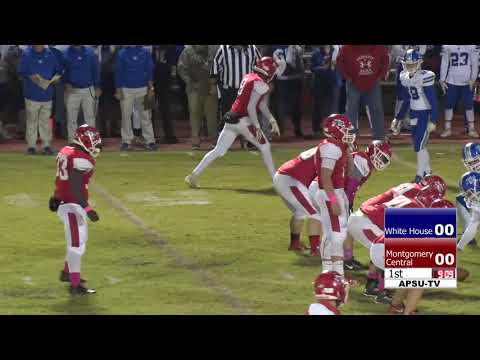 HSFB White House vs Montgomery Central High School (10/18/2018)