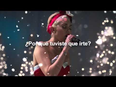 Miley Cyrus - My Sad Christmas Song  (Subtitulada al español)