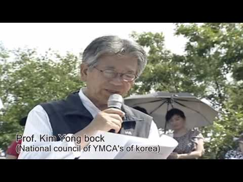 Korea YMCA's Peace Campain( 60th Anniversary of Armistice Agreement)