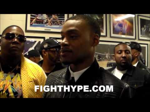ERROL SPENCE REACTS TO SHAWN PORTER'S TKO OF ANDRE BERTO: 'HE'S A DOG...HE DID WHAT HE HAD TO'