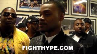 ERROL SPENCE REACTS TO SHAWN PORTER'S TKO OF ANDRE BERTO: