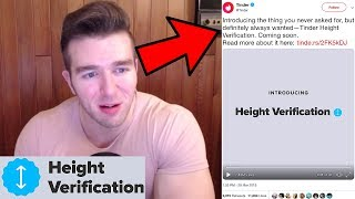Reacting To Tinder Adding Height Verification