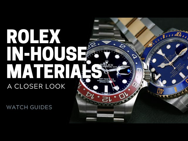 What's a Rolex Made Of? Rolex In-House Materials | SwissWatchExpo [Rolex Watches]