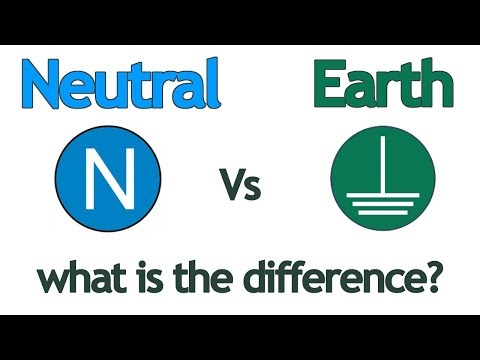 Difference Between Neutral And Earth