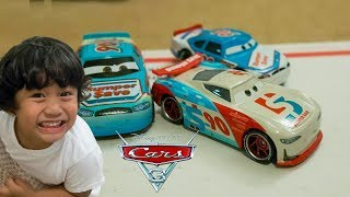 NEW Disney Cars 3 Toys NEXT GEN Racers Paul Conrev Bumper Save Piston Cup Competition 5 PACK