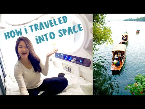 LUXURY space capsule Airbnb | Hangzhou TRAVEL VLOG