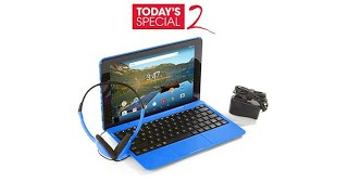 "RCA 10.1"" HD IPS 32GB Tablet w/Keyboard and Headphones"