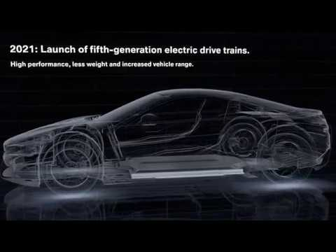 BMW Group electrification strategy. Fifth generation BMW Group electric drive from 2021