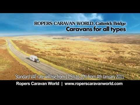 Ropers Caravan World- 'Beat The VAT Rise!' TV Ad