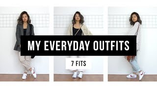 My Everyday Outfits   7 Fits