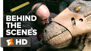 Jurassic World: Fallen Kingdom Behind the Scenes - Blue's Animatronics (2018) | FandangoNOW Extras