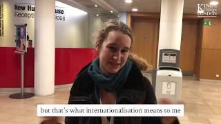 Internationalisation at King's   Volunteering and Internationalisation
