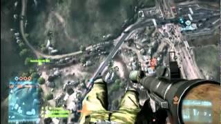 Battlefield 3: capturing a base like a boss!!!
