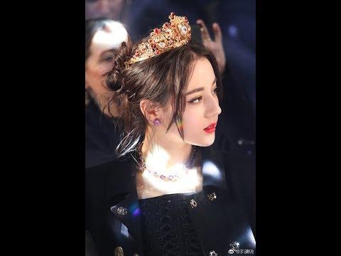 [FULL HD] Nữ vương Địch Lệ Nhiệt Ba - Dolce&Gabbana | 2018 Milan Fashion Week